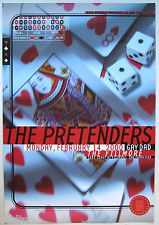 THE PRETENDERS, Original 2000 Concert Poster by Scott Idleman, Fillmore F395
