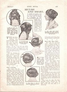 Tuppence Ha'penny: Great War Period Hairdressing