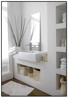 Design Ideas Modern bathroom ideas - cool bathroom furniture Design IdeasSource : Moderne Badezimmer Ideen - coole Badezimmermöbel by Furniture, Bathroom Furniture, Interior, Zen Bathroom Decor, Zen Bathroom, Bathroom Furniture Modern, Bathroom Interior, Modern Bathroom, Bathroom Decor