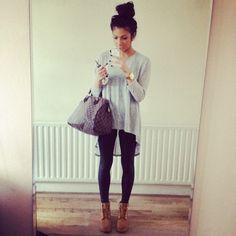 Shirt: timberlands, leggings, purse, handbag, fashion, t-shirt, pants, tank top, bag - Wheretoget