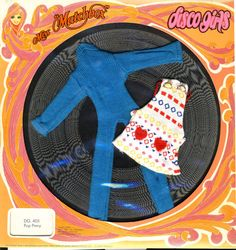 Disco Girls Outfit Pop Pinny Lesney Miss by NewEnglandYesterdays
