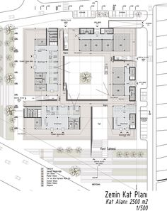 Mersin chamber of commerce-industry building competition winning proposal University Architecture, Architecture Building Design, Architecture Presentation Board, Futuristic Architecture, Concept Architecture, Office Layout Plan, Office Floor Plan, Office Building Plans, Architectural Floor Plans