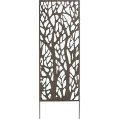 panneau d co en m tal planter dans le sol 4 mod les au choix a voir ici. Black Bedroom Furniture Sets. Home Design Ideas