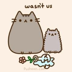 and Andrew Duff started Everyday Cute as a place to show off their adorable illustrations and comics, but the breakout star ended up being Pusheen, . Kawaii Pusheen, Gato Pusheen, Pusheen Love, Kawaii Cat, Fat Cats, Cats And Kittens, Crazy Cat Lady, Crazy Cats, Pusheen Stormy