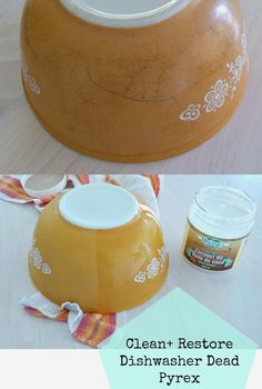 Collecting, Cleaning Restoring Pyrex // Remove black scratches from Pyrex bowls and restore shine