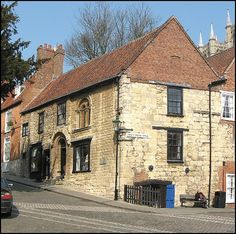 The Norman House, Steep Hill, Lincoln England, is a rare example of domestic Norman architecture circa late 12th century| by Lincolnian (Brian)