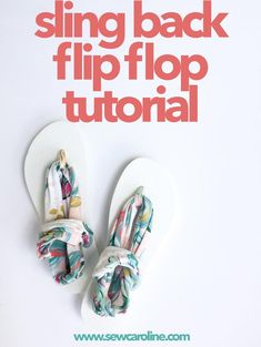 DIY Ideas for Summer - Cute Summery Crafts - Ideas to Make for Lake, Pool, Outdoors - How to Make Custom Fabric Flip Flips -Creative Things to Make for Summertime - Teen Crafts and DIY Projects #teencrafts