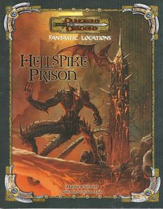 Hellspike Prison - used the maps in this quiet a few times. Really cool for mid to high level play.
