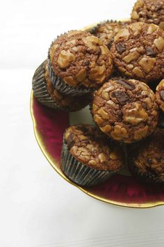 for my sister: mini nutella muffins