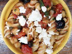 Garden Pasta recipe- Lunch #vegetarian #freezercooking #oamc