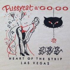 Pussycat a Go Go Burlesque Pinup matchbook