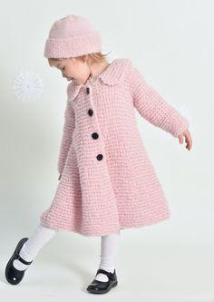 Tekstiiliteollisuus - teetee Cacao Baby Knitting Patterns, Knit Crochet, Coat, Sweaters, Jackets, Vintage, Crocheting, Diy, Fashion