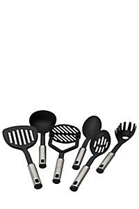 6 PIECE NYLON UTENSIL SET