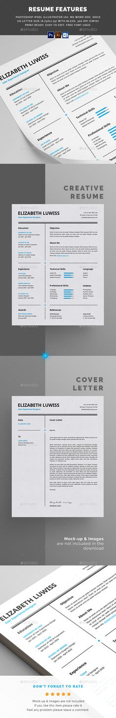 #Resume - Resumes Stationery Download here: https://graphicriver.net/item/resume/20088841?ref=alena994
