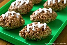 Cocoa Rice Krispies Treats! Made these for a superbowl party...super easy!