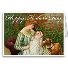 Victorian Mothers Day Card
