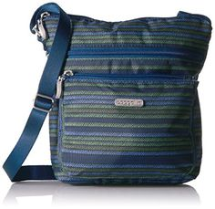44de3f830e1f online shopping for Baggallini Pocket Lightweight Crossbody Bag   Spacious