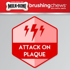 I just earned the Attack Plaque badge for giving my dog Milk-Bone® Brushing Chews® every day. #ChewsWisely #MilkBone