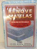 RENOVE MATELAS HOUSSE INTEGRALE 90x190 ADAPTABLE FERMETURE GLISSIERE