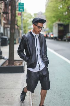 Would You Wear A Jacket With Shorts? Because... | Closet Freaks | Menswear Blog By Anthony Urbano