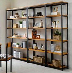 Vintage de hierro forjado separadores hacer el viejo de madera estantería estanterías de Ikea creativa personalizada estantes de la exhibición