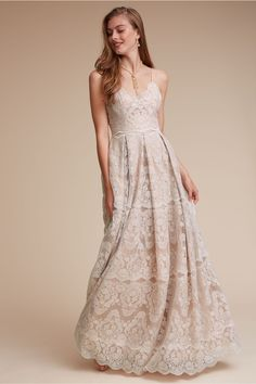 ready for a garden party | Helena Gown from BHLDN