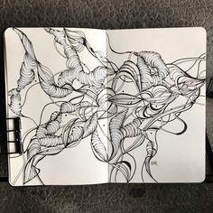 #penandink #noodlersink #blackwing #atelierdelliberte #moleskine Noodlers Ink, Black Wings, Moleskine, Art, Atelier, Art Background, Kunst, Performing Arts, Art Education Resources