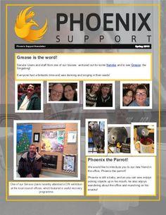 Phoenix Support Newsletter Spring 2016