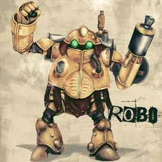 Robo by infinote on DeviantArt