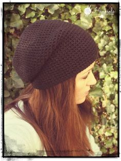 Flip-it beanie - free crochet pattern by Haaksels - Made by Marion