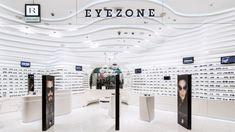 EYEWEAR STORES! Rivoli EyeZone Stores by Labor Weltenbau, UAE eyewear store design
