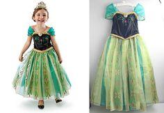 2014 Frozen Dress Elsa Anna Girl Frozen Party by frozencosplay4u