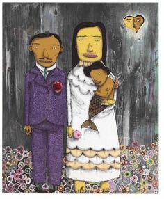 Os Gêmeos, 'Casou Com o Primo,' 2007, UNIX Gallery