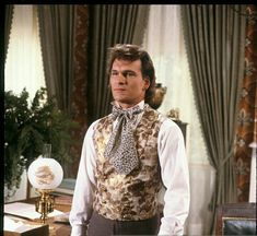 Patrick Swayze ABC's 'North and South - Miniseries'