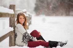 winter senior pictures - Google Search