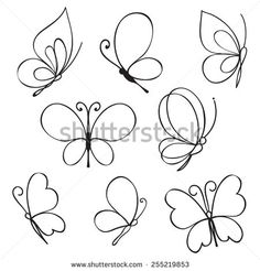 butterfly drawing / butterfly drawing - butterfly drawing easy - butterfly drawing simple - butterfly drawing pencil - butterfly drawing easy step by step - butterfly drawing colorful - butterfly drawing aesthetic - butterfly drawing black and white Easy Butterfly Drawing, Simple Butterfly Tattoo, Butterfly Nail Art, How To Draw Butterfly, Butterfly Outline, Butterfly Pattern, Doodle Images, Doodle Art, Heart Doodle