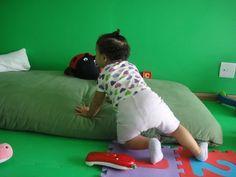 Futons 100  % algodão Biofuton  Quarto Montessori  Quarto Montessoriano