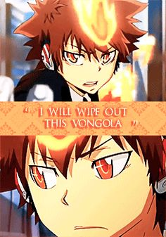 One problem tsuna your part of the volngola