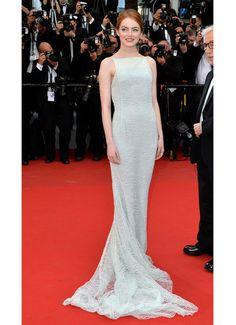 Cannes 2015: Le choker White Noise Repossi d'Emma Stone