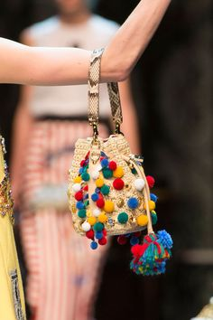 Dolce & Gabbana at Milan Fashion Week Spring 2016 - Details Runway Photos