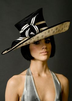Not sure why but I could see Nonnie rocking this hat whether in a Halloween costume or just in a tea dress :)