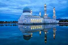 The City Mosque in Kota Kinabalu, East Malaysia