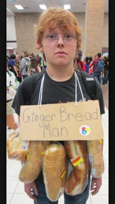gingerbread man halloween costume legged man u0027s awesome halloween costume won internet