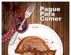 "Check out new work on my @Behance portfolio: ""Pague para comer, reze para sair."" http://be.net/gallery/54600839/Pague-para-comer-reze-para-sair"