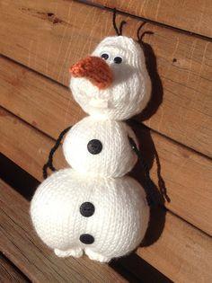 Olaf from Frozen Knitting Pattern di TheKnitGuru su Etsy