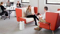 Office Furniture Designed To Spark Inspiring, Random Encounters Office Plan, Office Ideas, Open Office, Casual Office, Creative Office Space, Office Spaces, Startup Office, Office Furniture Design, Furniture Ideas