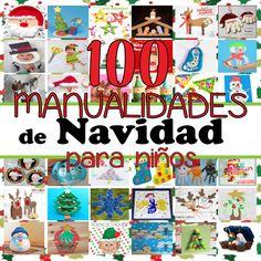 manualidades-navidad-niños Toy Craft, Craft Box, Winter Activities, Toddler Activities, Paper Toys, Paper Crafts, Diy For Kids, Crafts For Kids, Christmas Diy