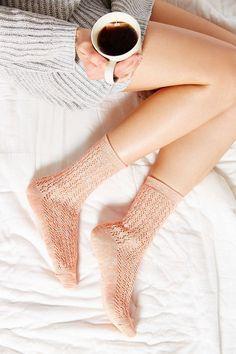 scrunchy socks.