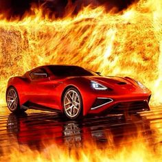 The Icona Vulcano SuperCar with 950bhp VOLCANIC!