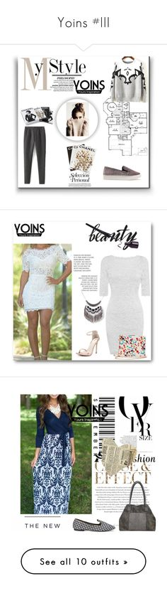 """Yoins #III"" by lugavicamina ❤ liked on Polyvore featuring yoins, Assouline Publishing, Chanel, Envi, American Eagle Outfitters, New Growth Designs and Once Upon a Time"